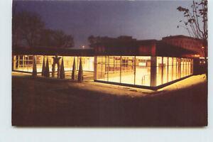 Postcard Garden Front Raf Fulcher Jesmond Metro Station Printed Unposted HA