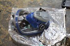 MSA Advantage 3200 Full Face Mask Dual port Respirator MEDIUM 817588 FILTER NEW