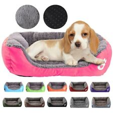 Large Dog Bed, Comfortable Dog House, Soft Fur Kennel, Dog Cage Mat, Waterproof