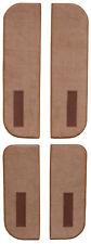 1987-1988 Chevy R20 Suburban Door Panel Carpet Cutpile|Cardboard Inserts w/Vents