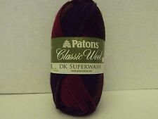 Patons DK Superwash Wool ~ Color Autumn Spice 100% Wool ~  #3 ~ 125 yds