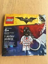 LEGO 5004928 KISS KISS TUXEDO BATMAN KEY CHAIN BRAND NEW SEALED THE BATMAN MOVIE