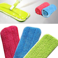 New Fashion Portable Microfiber Mop Cloth Replacement Dust Cleaning Pad Washable