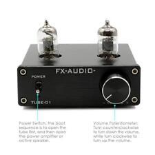 Vacuum Tube Pre-Amplifier Stereo HiFi Buffer Preamp DC12V Audio Mini 6J1 Valve
