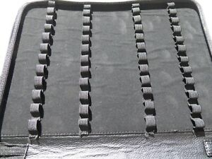 BLACK FOUNTAIN PEN DISPLAY CASE (Holds 48 Pens).