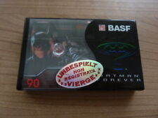 BASF BATMAN 90 audiokassette cassette audio tape sealed