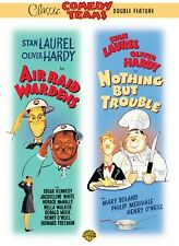 LAUREL AND HARDY TWO MOVIE FEATURE DVD - AIR RAID WARDENS - NOTHING BUT TROUBLE