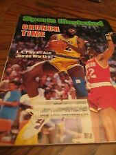 May 19 1986 James Worthy Los Angeles L.A. Lakers Sports Illustrated