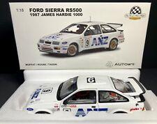 AUTOart 1:18 Ford Sierra RS500 1987 James Hardie 1000 #09 COA Signed Moffat NEW