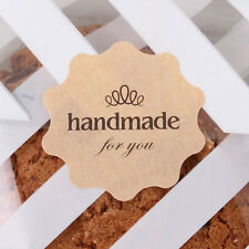 "24 pcs ""Hand Made for you"" sticker Party bages/ Gift Favour Boxes"