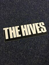 The Hives Rare Promo Sticker Record Store Item Garage Rock Punk Promotional WOW