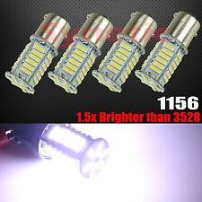 4x 1156 BA15S High Power New 7014 LED 8000K Cool White Turn Signal Light Bulbs
