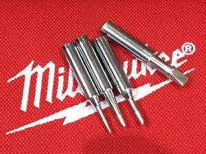 Milwaukee M12 ,4 Pack Replacement Soldering Iron Tips For 2488-20