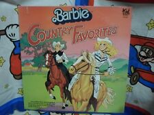 Barbie Country Favorites LP RECORD