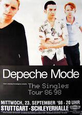 Original Konzertplakat  Depeche Mode  23.9.1998  Stuttgart Schleyerhalle
