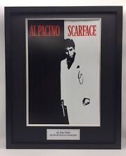 RARE Al Pacino Scarface Movie Poster Signed Photo Display + COA AUTOGRAPH FRAMED