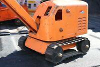 Structo Construction Steam Shovel Excavator Crane - pressed steel - USA