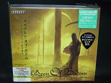 CHILDREN OF BODOM I Worship Chaos + 4 JAPAN CD + DVD Sinergy Thy Serpent Warmen