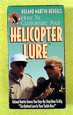 Roland Martin Helicopter Lure ~ VHS Movie ~ Vintage Bass Fishing Video Tape