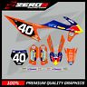 KTM MOTOCROSS GRAPHICS MX GRAPHICS SX SXF EXC EXCF 125 150 250 350 450 SUNSET