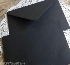 40 x C6 QUALITY Envelopes BLACK OR CHOOSE A COLOUR Size 114x162mm