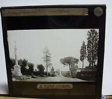 c1900 ROME Tomb CECILIA METELLA Veduta da Sebastiano Glass Lantern Photo Slide