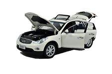 PAUDI 2012 INFINITI EX25 EX 25 WHITE 1/18 DIECAST MODEL CAR  5507