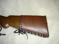 SASS leather 87 SHOTGUN BUTTSTOCK COVER(20 days to get it done)