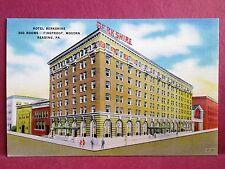 Old Postcard PA Reading Hotel Berkshire