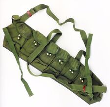 Vietnam Era Surplus Chinese Army Canvas Type 63 Auto chest rig Ammo Pouch-0087