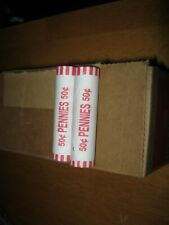 $25 Unsearched Box Of Pennies  - Direct From Armory And 2 Rolls 2020-P Pennies