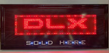 Dlx Deluxe Rolling Paper Sold Here Lighted Storefront Display Sign Man Cave