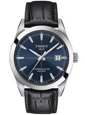 Tissot Gentleman PowerMatic 80 Slicium Blue Dial Men's Watch T127.407.16.041.01