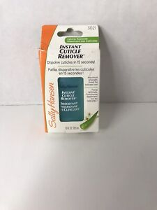 sally hansen instant cuticle remover New With Box Issues
