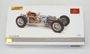 CMC Lancia D50, 1955 Rolling Chassis Diecast Model 1:18