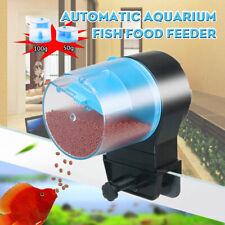 Automatic Feeder Food Dispenser for Aquarium Fish Turtle Tank USB Rechargable