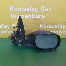 PEUGEOT 206 MK1 1998-2009 O/S DRIVERS SIDE FRONT BLUE ELECTRIC WING MIRROR