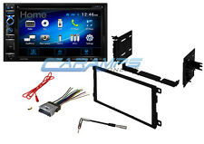 "NEW 6.2"" AXXERA STEREO RADIO W INSTALL DASH KIT W BLUETOOTH AND AUXILIARY INPUTS"