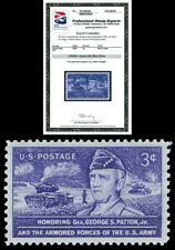 Scott 1026 1953 3c Patton Issue Mint Graded Superb 98 NH with PSE Certificate!