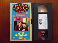 Letti sbagliati (Franco Franchi, Ciccio Ingrassia) - VHS ed. De Agostini