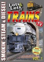 Lots and Lots of Trains Vol. 1 [New DVD]