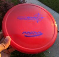 Rare Ontario PFN Star Rhyno Innova Disc Golf NEW 169g Red