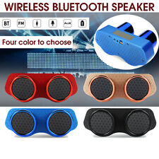 Car Wireless bluetooth Chimney Speaker Super Bass TWS Sound Stereo Loud  ☆  z