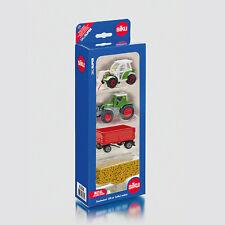 SIKU Geschenkset Landwirtschaft Traktor Kippanhänger Granulat Spielzeugauto 6304