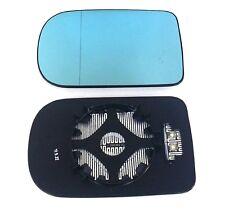 Spiegelglas BMW links 5er (E39), 7er (E38) beheizbar blau getönt asphärisch