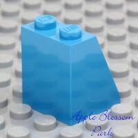 NEW Lego Female Plain DARK AZURE MINIFIG SKIRT - Blue Princess Girl Dress Bottom