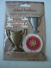 EK SUCCESS PARCEL JOLEE'S BOUTIQUE AWARDS DIMENSIONAL STICKERS BNIP