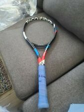 Used- Tecnifibre Tflash 300 Ps, 4 1/4 grip good condition no cover
