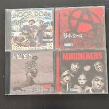 Cd Sammlung Rap Hip Hop Snoop Dogg Busta Rhymes Willie D Wu Tang