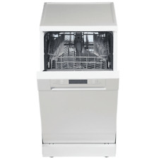 PKM Stand Geschirrspüler Spülmaschine freistehend Edelstahl weiß 45 cm EEK: A+
